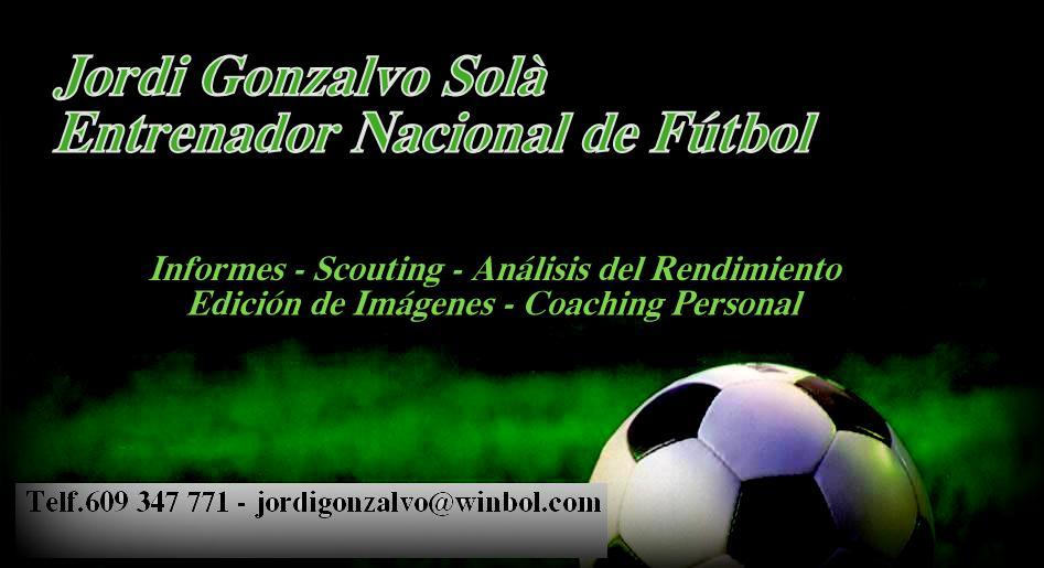 Logo Imatge Corporativa Jordi Gonzalvo. Tarjeta