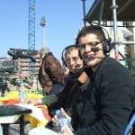Fotos Lluís i Jordi Canal 33 retransmitiendo un partido de fútbol